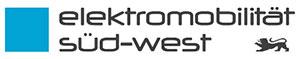 Logo Elektromobilität Süd-West